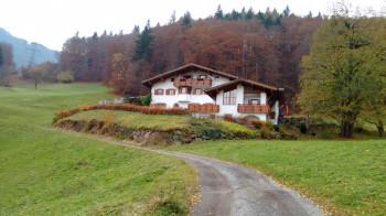 Haus Kleiner Turm in Herbst
