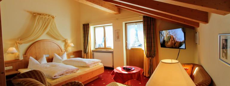 Gatterhof Zimmer / Wohnung Nr. 16 mit Balkon und perfekte Aussicht