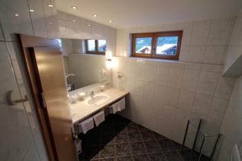 Große neue Badezimmer erwarten Sie im Gatterhof