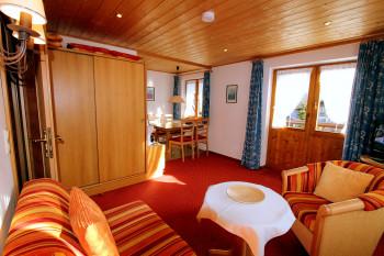 Zweiraumferienwohnung Nr. .15 im Gatterhof. Mit Balkon und extra Schlafzimmer