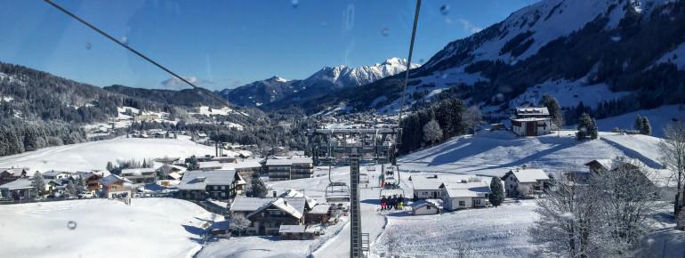 Heuberg Skigebiet in Riezlern