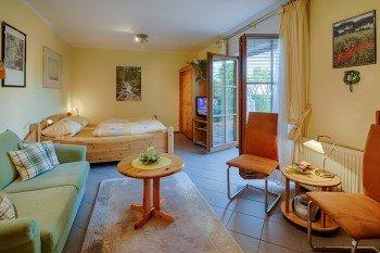Apartment Nr.1 mit 40 m² für 2 - 3 Personen, täglich NUR € 68,-- für 2 Personen