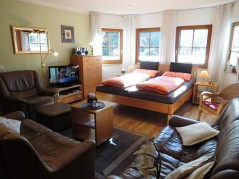 Apartment Nr.4 mit 50 m³, für 2 - 3 Personen, täglich für 2 Personen NUR € 80,--