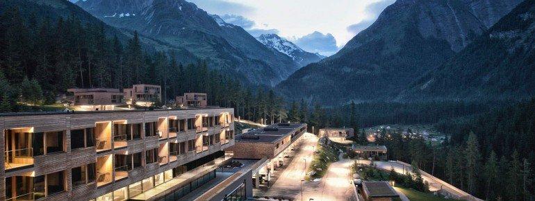 Das Hotel liegt direkt vorm Eingang des Nationalparks Hohe Tauern