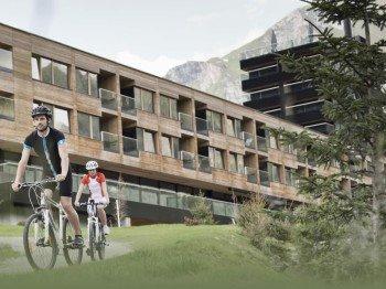 Mountainbikestrecken direkt am Hotel