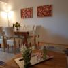 Esstisch im Wohnzimmer Wohnung A