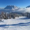 Zugspitze im Winter
