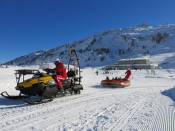 Aktion in der Skischule