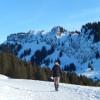 Winterwandern auf sonnigen Höhenwegen