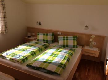 Doppelzimmer mit Dachsteinbick