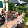 Terrasse mit Grillmöglickheit