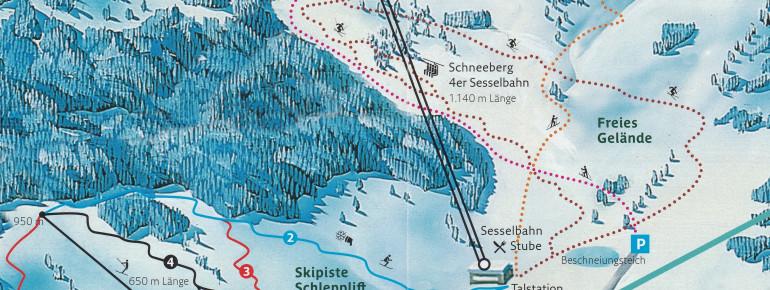 Skiegebiet Losenheim