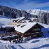Im Winter mitten im Skigebiet