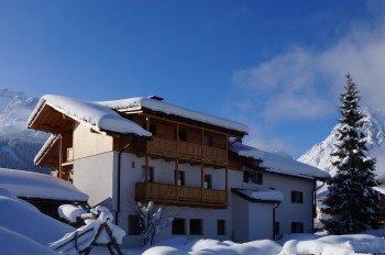 Haus Reider im Winter