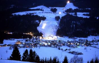 night ski race - Haus Scheiblauer