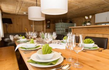 Almrausch Esszimmer/Küche