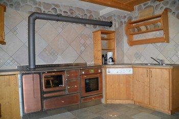Super Wohnküche - voll ausgestattet