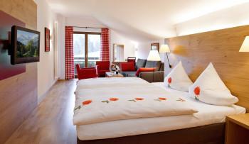 Doppelzimmer im Alpin-Stil