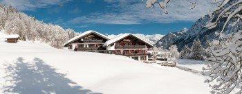 Südansicht Alpengasthof Hotel Schwand