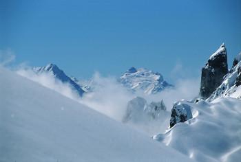 Winterlandschaft am Arlberg