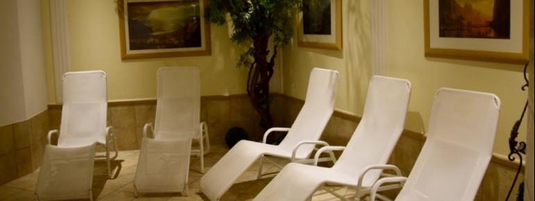 Relax-Liegen im SPA-Bereich