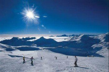 Skifahren am Mölltaler Gletscher