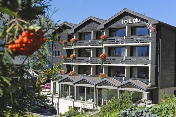 Aussenansicht Hotel Gädi Grächen