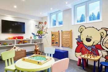 Kinderspielraum im Hotel