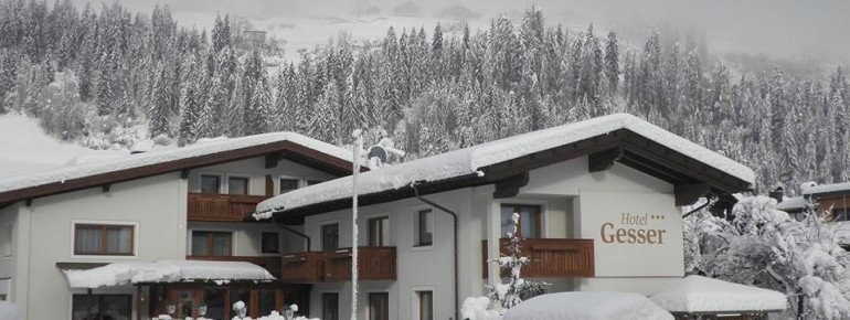 Winteransicht Hotel Gesser Sillian
