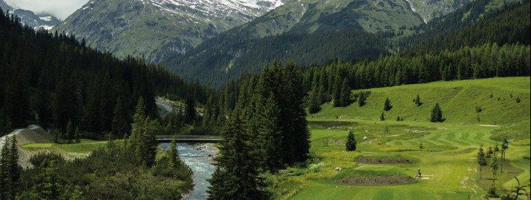 Golfen im Gotthard