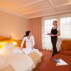 Hotelzimmer m. Suiten - Einzelzimmer und Doppelzimmer im *** Bereich 2 - 4 Personen Größen