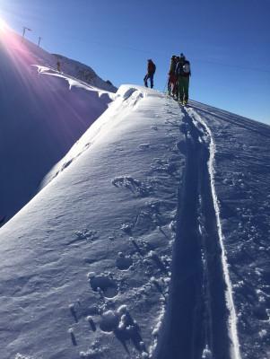 Skitour zum Trittkopf