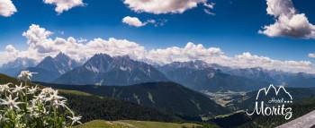 Panorama von der Bonnerhütte