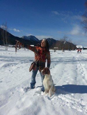Winterurlaub mit Hund am Weissensee