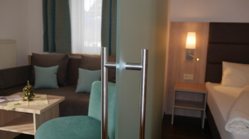 Neue Junior Suiten mit Wohn- und Schlafzimmer