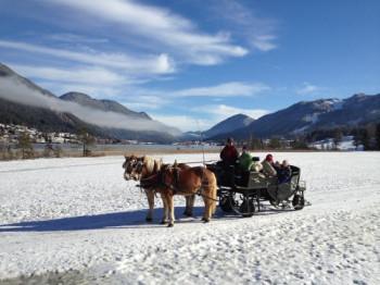 Pferdekutschenfahrt am Weissensee
