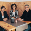 Gastgeber Brigitte, Eva und Daniel