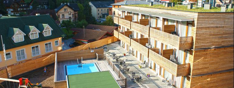 Das Hotel Planai im Sommer
