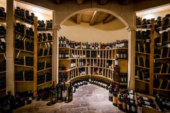 Weinkeller mit über 1.000 Positionen