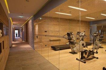 Fitnessraum im Hotel Seespitz-Zeit