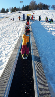 Kinder Skifahren Bucklift Todtnauberg