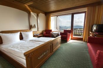 Standard Doppelzimmer mit Südbalkon