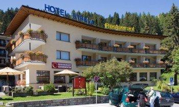 Hotel Strela im Sommer