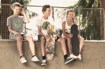 Skatepark in der Funsporthalle