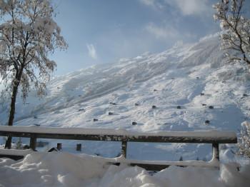 Idealer Ausgangspunkt für Skitouren