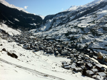 Blick von Norden auf Vals