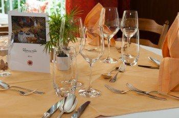 Restaurant im Hotel Waldhaus-Huldi