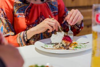 Restaurant mit Pizzeria im Hotel Walserberg