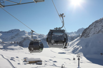 Auenfeldjet am Arlberg