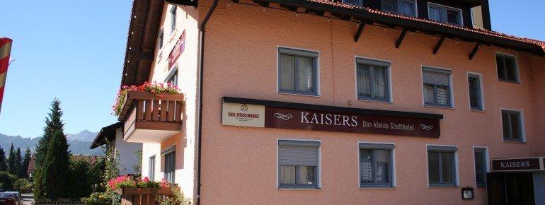 Außenansicht Hotel Kaisers